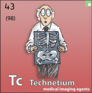Image of the element Technetium